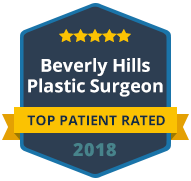 2018 top patient rated Beverly Hills plastic surgeon